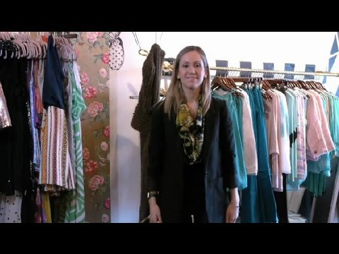How to Restyle Old Clothes : Style & Fashion Tips
