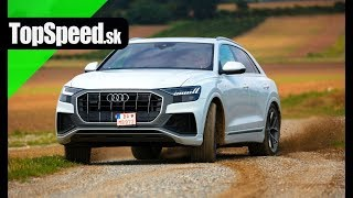 Audi Q8 50TDI test - Maroš ČABÁK TopSpeed.sk