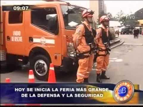La Defensa Civil Colombiana presente en Expodefensa 2014