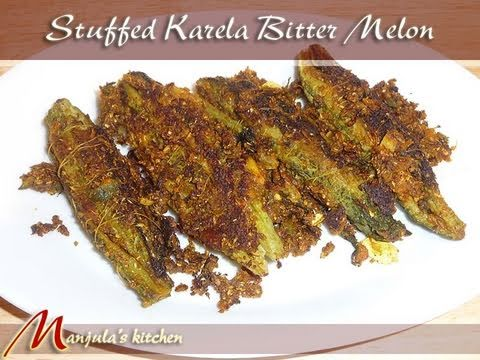 Stuffed Karela (Bitter Melon) Recipe by Manjula Music Videos