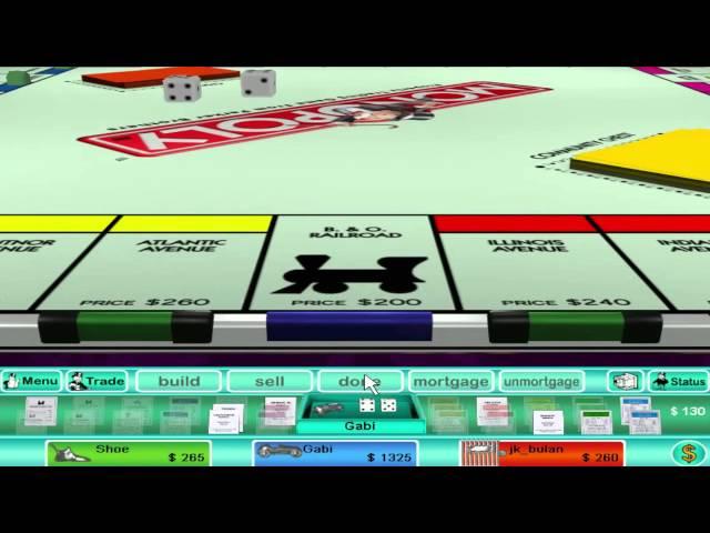 Руководство запуска: Monopoly 3 по сети