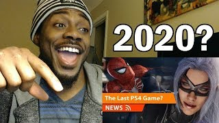 Marvel's Spider-Man 2 2020 Release Date! Last PS4 Game? REACTION & REVIEW