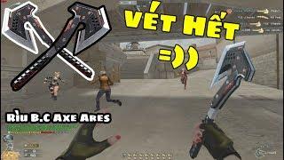 Bình Luận CF: Rìu B.C Axe Ares Vét Máng Multi kill Liên Hoàng ◢Rùa Ngáo◣
