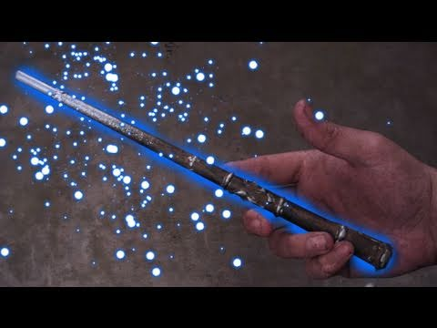 Harry Potter Magic Light Up Wand : DIY Backyard FX