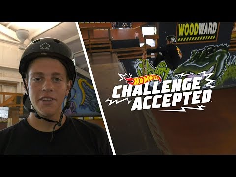 Crail Body Varial On Mini Vert - Hot Wheels Challenge Accepted