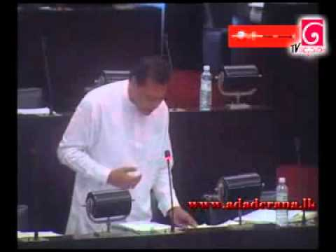 Sri Lanka MP Dayasiri was removed from Parliament  for revealing crimes, lawlessness  06 oct 2011
