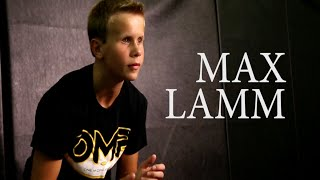Max Lamm, the 13-Year-Old Blind Wrestler (B/R Studios)