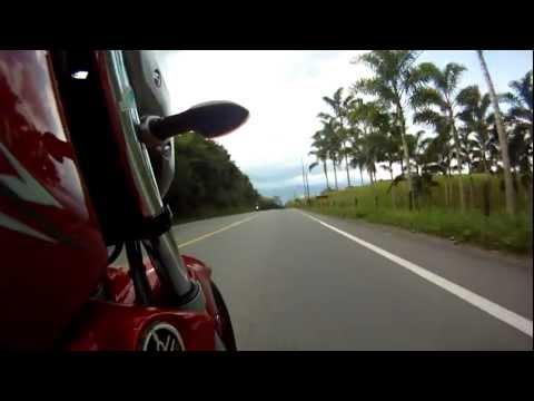 Probando GoPro en Yamaha FZ16