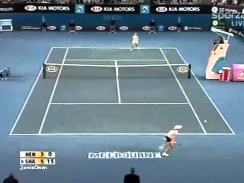 Maria Sharapova vs Justine Henin 2008 AO Highlights