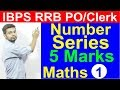 IBPS RRB PO Clerk Maths Number Series Missing Wrong One Out Type Tricks Shortcuts mp3
