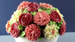Cupcake Flower Bouquet