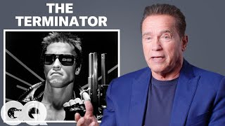 Arnold Schwarzenegger Breaks Down His Most Iconic Characters | GQ