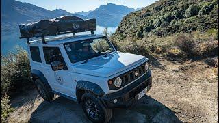 Suzuki Jimny to Antarctica.  New Zealand Road Trip. Part-2