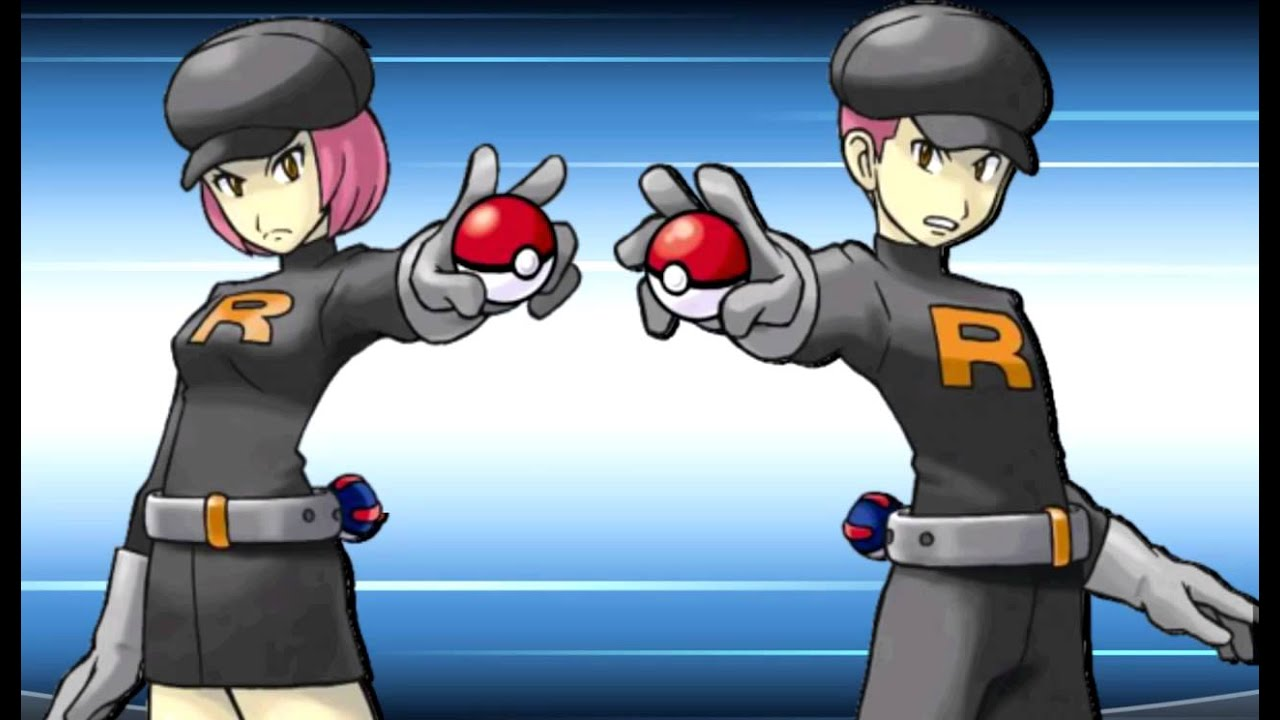Team Rocket Grunt Wants to Battle vs Team Rocket Grunt X/y