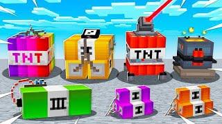 10 *NEW* MINECRAFT TNT BLOCKS!