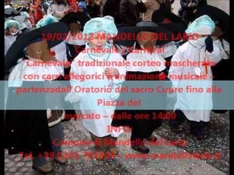 Eventi in provincia di Lecco 17/02/12-23/02/12