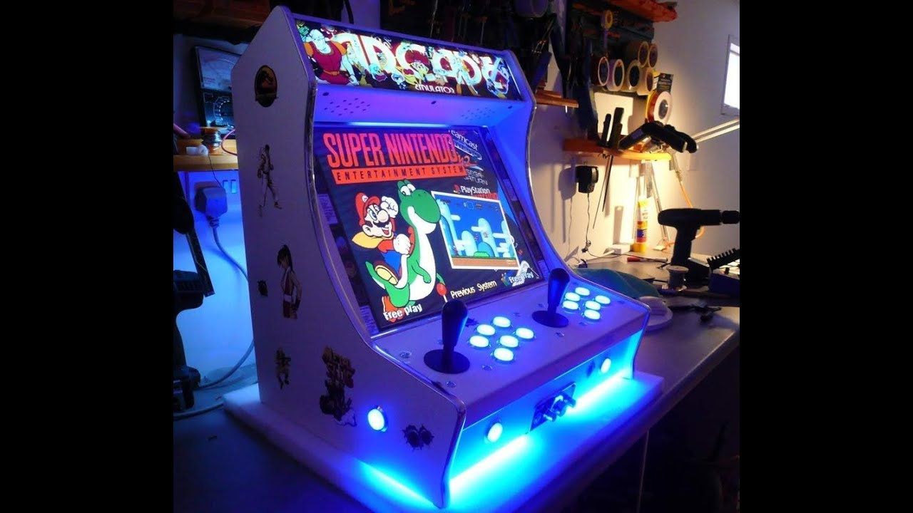 Cool Picture Video Ideas: TINY ARCADE MACHINE