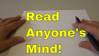 Read Anyone's Mind With This EASY Math Trick