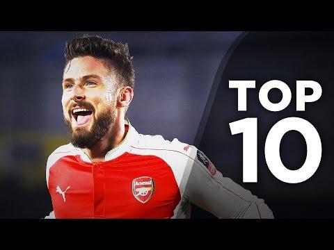 Top 10 Most Underrated Strikers In Europe | Giroud, Gameiro & Jonas!