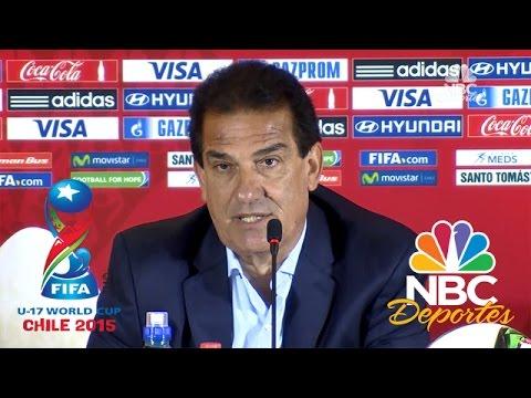 Habla el DT argentino tras la derrota 4 por 0 ante Alemania | FIFA U17 | NBC Deportes