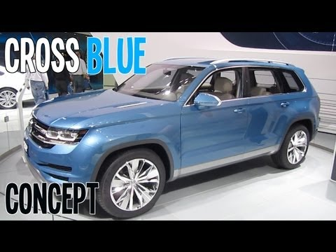 VOLKSWAGEN CROSSBLUE SUV CONCEPT 2013 Detroit Auto Show