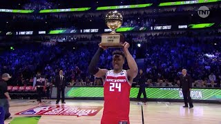 Buddy Hield Wins NBA 3-Point Contest, Hits Last Shot to Become Champion at All-Star Weekend