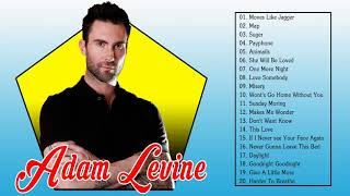 Adam Levine Greatest Hits Full Playlist - Adam Levine's Best Songs 2018