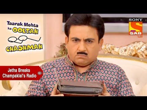 Jethalal Breaks Champaklal's Radio | Taarak Mehta Ka Ooltah Chashmah thumbnail