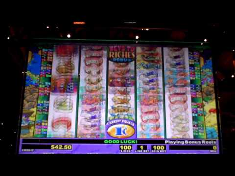 Stinkin Rich Slot Machine Bonus Win at Sands Casino