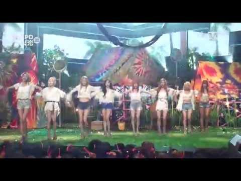[MPD직캠] 소녀시대 직캠 파티 PARTY Girls Generation Fancam Mnet MCOUNTDOWN 150716