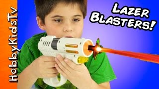 Laser Tag Blaster Toys with HobbyKids