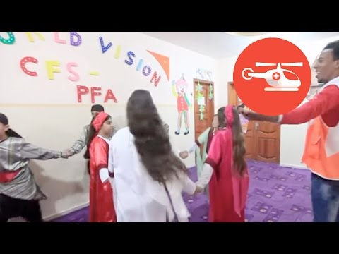 Child Friendly Spaces In Gaza   Emergencies  2015