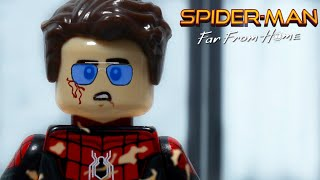Spiderman Far From Home: Spider-Man vs Drones in Lego