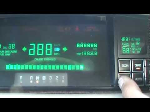 Cadillac DeVille Gauge Cluster Reprogramming: Engine RPM. Coolant Temp & Battery Voltage