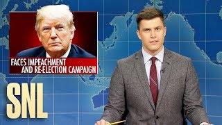 Weekend Update: Trump Running While Impeached - SNL