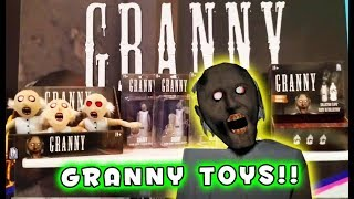 GRANNY Official TOYS Figures and Plush 2019 Toy Fair!!
