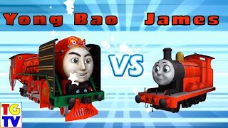 Thomas & Friends: Go Go Thomas - Yong Bao vs James, Gordon