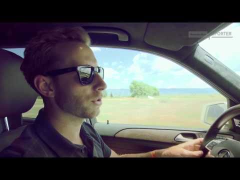 Mercedes-Benz TV: MB-Reporter Bradley Hasemeyer tests the new GL