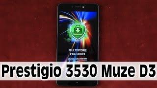 Распаковка Prestigio MultiPhone 3530 Muze D3