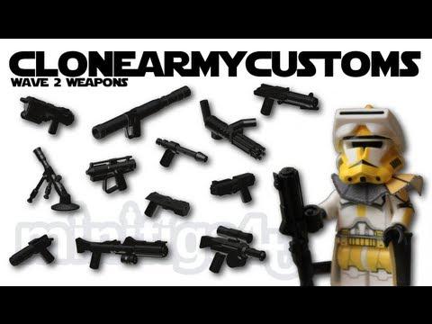 Lego Star Wars Custom Guns Lego Star Wars Clonearmycustom
