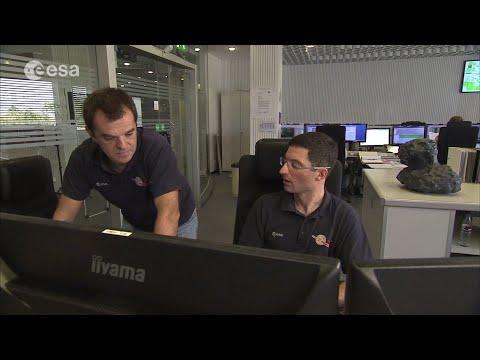 Rosetta's moment in the Sun