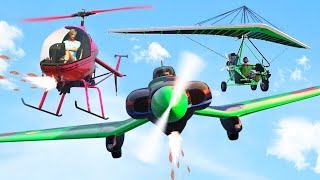 INSANE NEW ARMORED PLANES IN GTA 5! (GTA 5 Funny Moments)