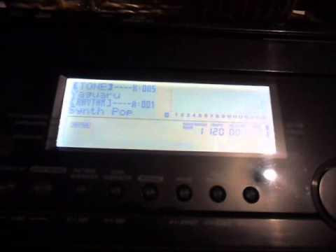 EDICIONES EN TECLADO CASIO WK 7500