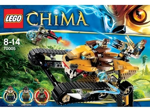 Обзор конструктора Lego Chima 70005