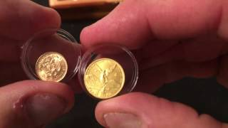 GOLD Mexican  2 Peso add to my Collection/LosingLouie Poured Silver  Shout Out