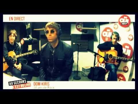 Beady Eye interview - OUI TELE (17/5-13)