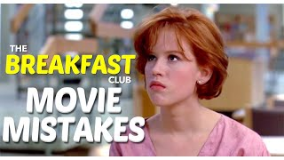 Biggest The Breakfast Club Movie Mistakes You Missed | 80s Movies Goofs & Fails