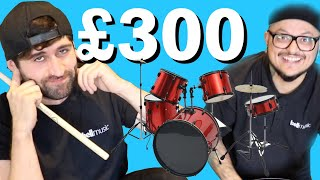 Can a £300 drum kit sound good?