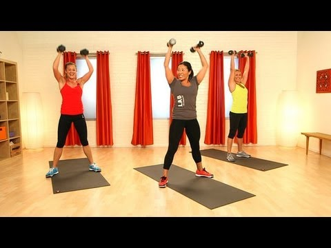 CrossFit Workout With Weights   Full-Body Exercise   Class FitSugar