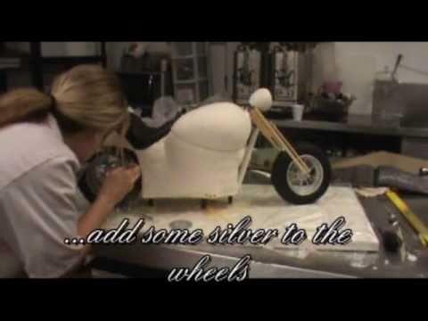 How To Make An Amazing Harley Davidson Cake Wmv Youtube
